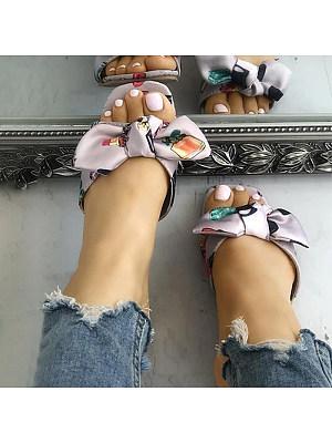 Fashion print slippers, 11381345