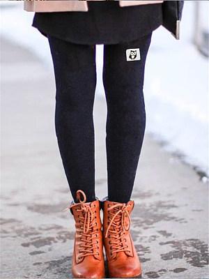 Printed Elastic Slimming Legging Trousers