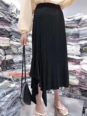 Mid-length bust skirt