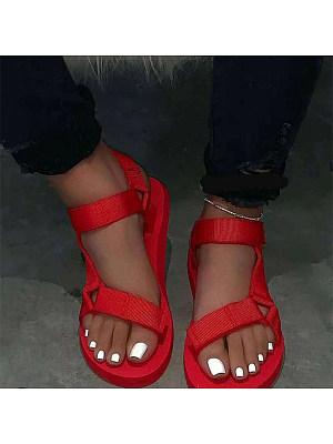 Flat heel comfortable wild sandals, 23594665