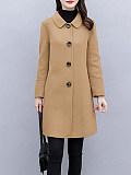 Image of Women's Woolen Coat Mid-length Autumn And Winter Coat