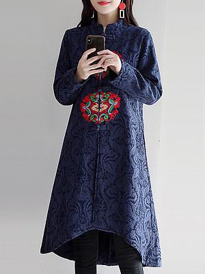 Long print coat, 10709771