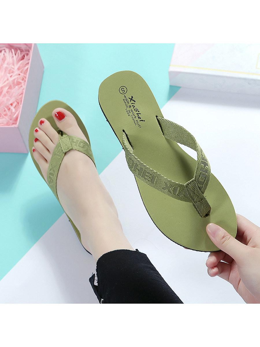 Women'S Summer Flip-Flop Beach Slippers