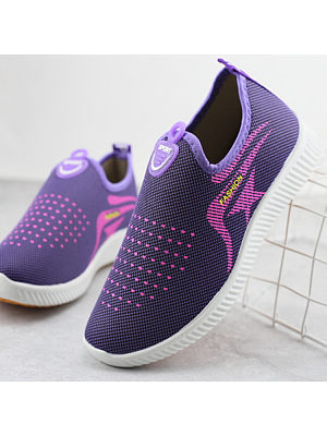 BERRYLOOK New Walking Mother Shoes Sports Version One-step Casual Women's Shoes Wholesale