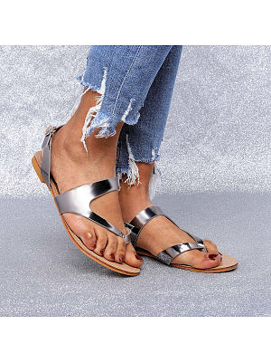 European and American casual women's sandals