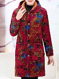 Image of Plush Thick Long Coat