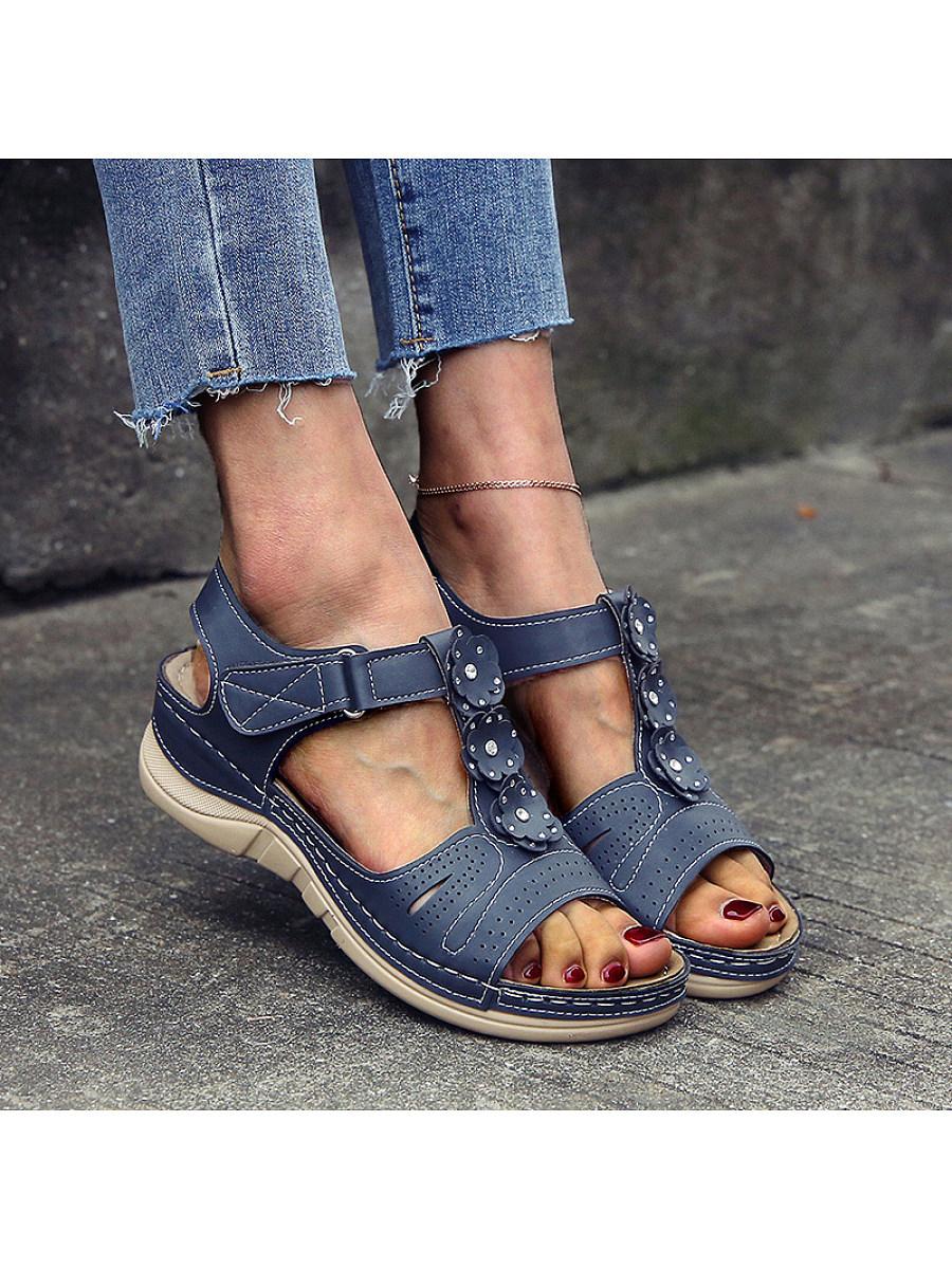 Women's comfortable wedge sandals