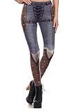 Image of Fashion 3D digital printing casual leggings