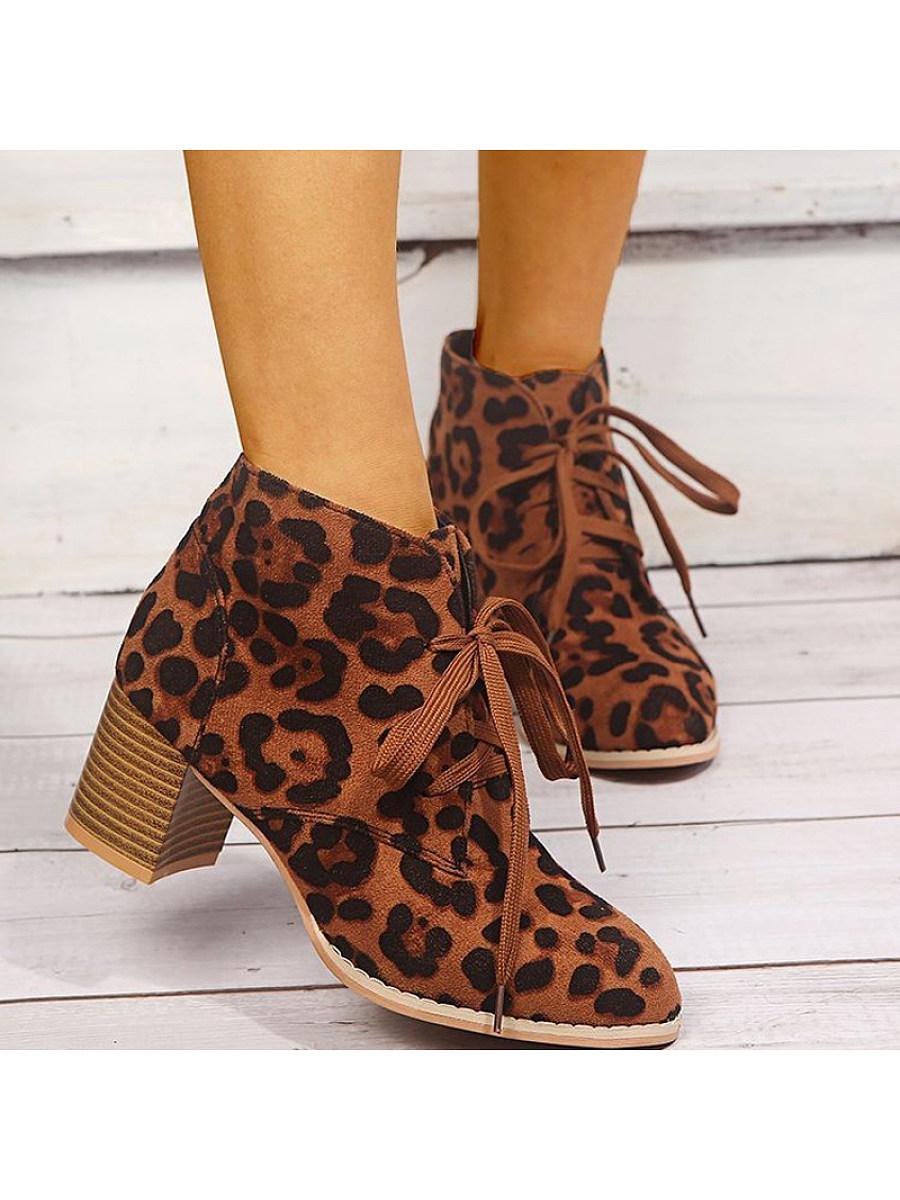 BerryLook Women's chunky heel comfortable women's boots