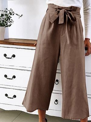 High-waisted baggy fashion slacks фото