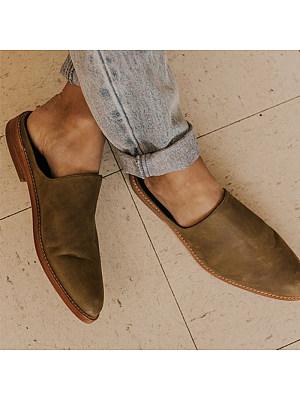 Women's comfortable flat slippers, 24586066