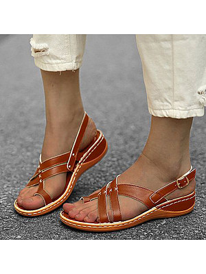 Women's fashion comfortable wedge sandals, 23937048
