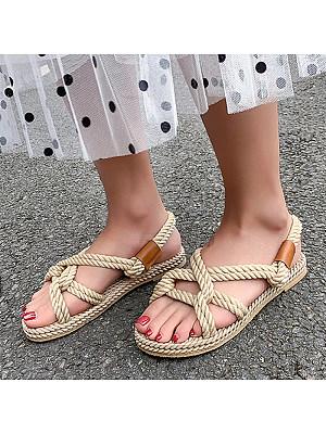 Open toe cross strap sandals, 11231305