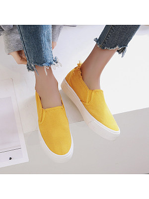 Casual and comfortable canvas shoes