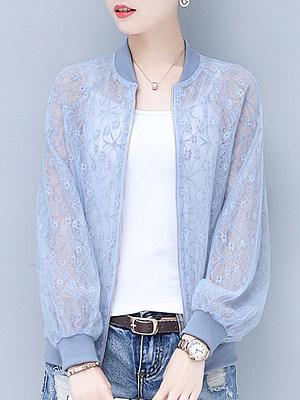 Long-sleeved cutout cool Jacket фото