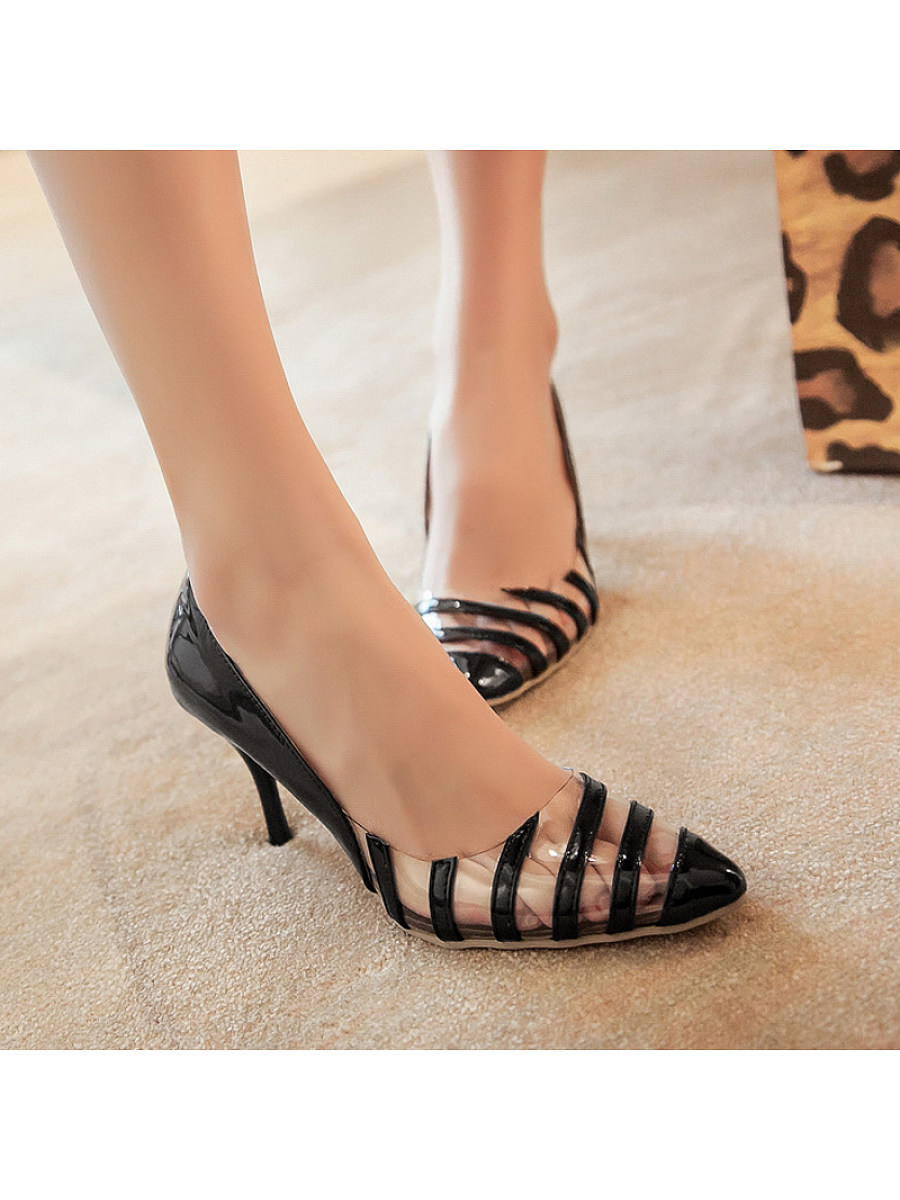 Women's fashion high-heeled shoes