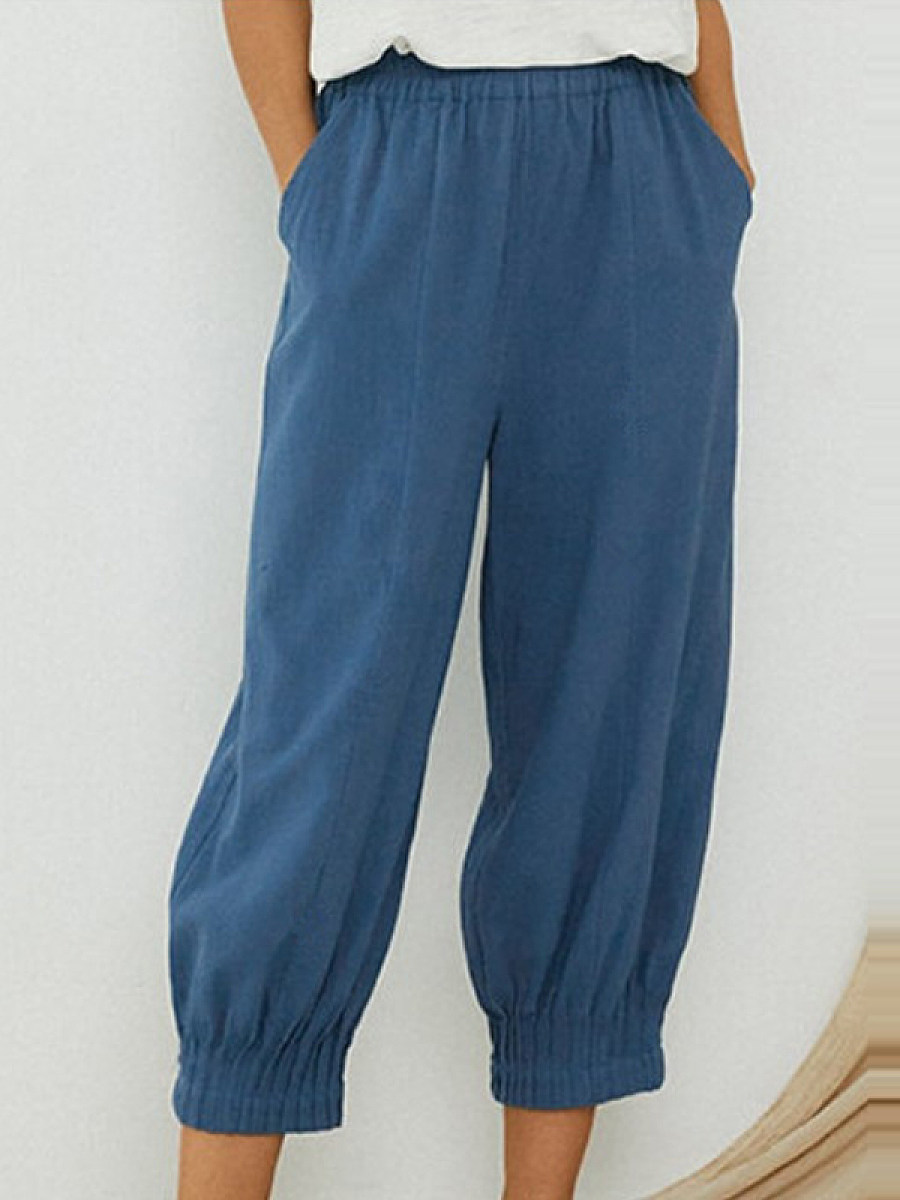 BerryLook New waist casual pleated pants