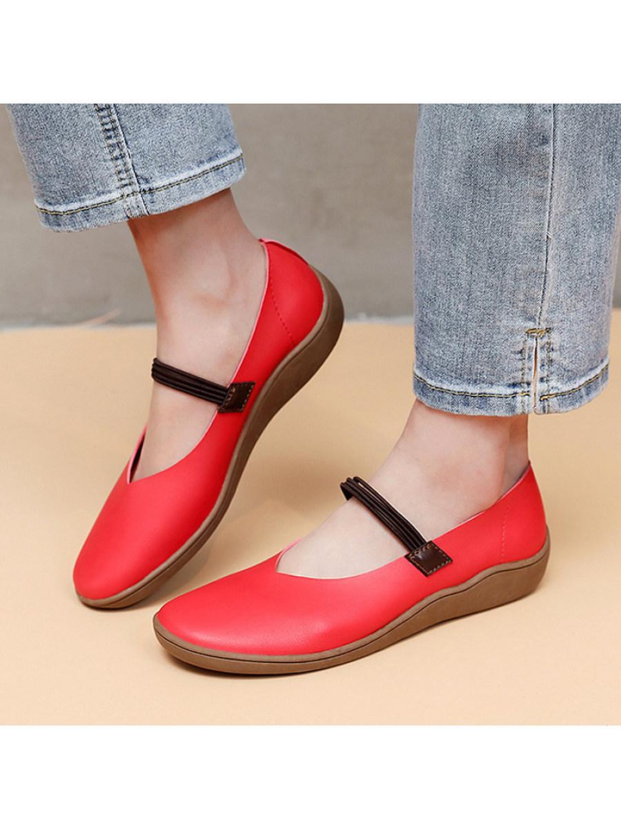 BerryLook Women's comfortable soft sole flat shoes