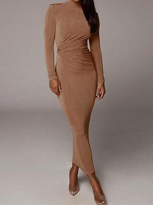 berrylook Tight-fitting Hip-length Skirt