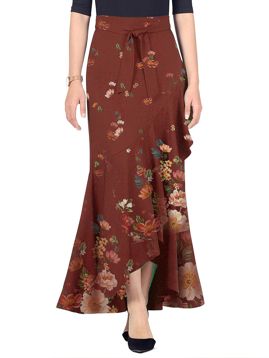 Fashion print skirt