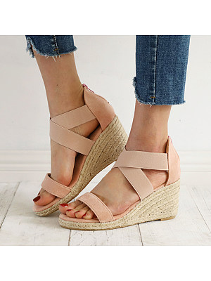 Stylish comfortable wedge sandals, 23589537