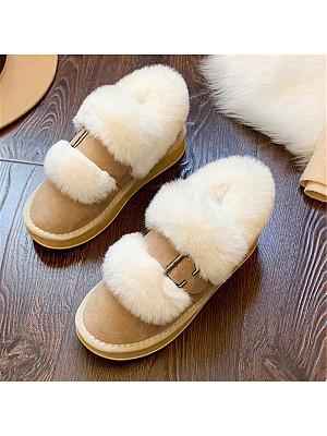 Women's casual thick-sole non-slip warm cotton shoes, 10453014