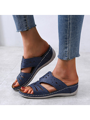 Comfortable wedge slippers, 23585981