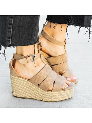 Stylish comfortable wedge sandals, 23562345