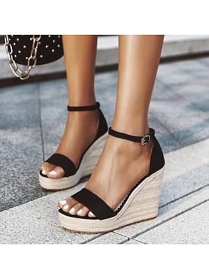 Stylish wild wedge sandals, 11165616