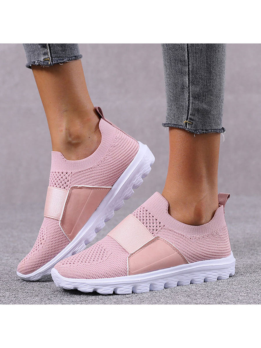 Breathable mesh non slip casual shoes