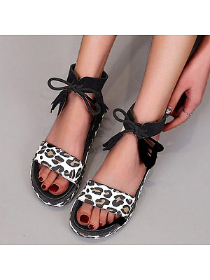 European and American thick straps Roman open toe sandals, 11333307