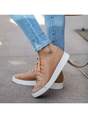 Women Casual Breathable Lace-up Sneakers, 11005136