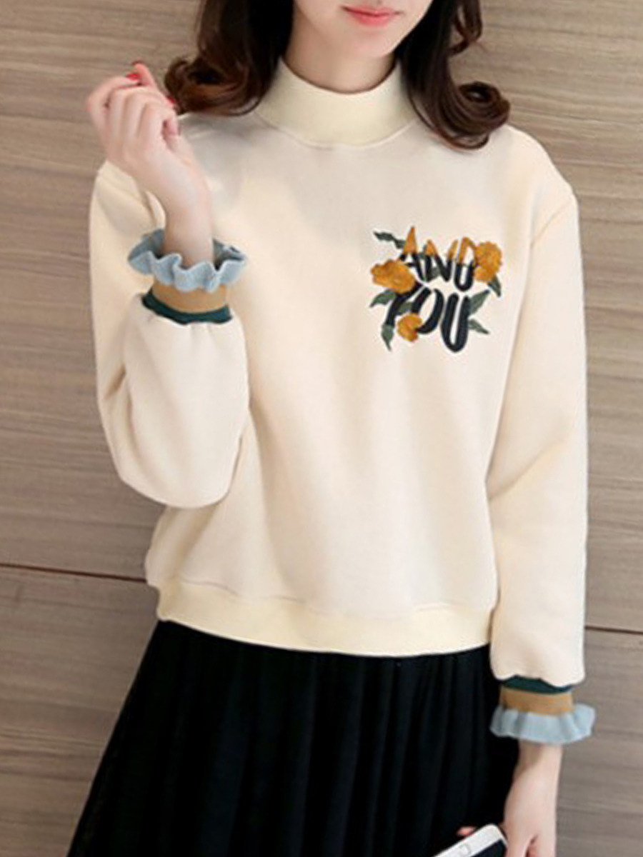 Fashion embroidered loose sweater - from $19.95