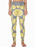 Image of Fashion high waist fruit print casual leggings