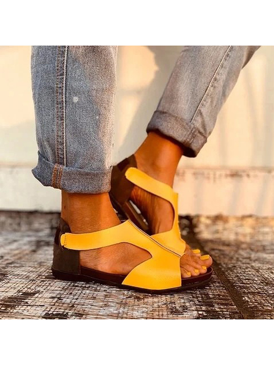 BerryLook Women's fish mouth sandals
