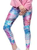 Image of 3D digital printing slim fashion all-match sports leggings