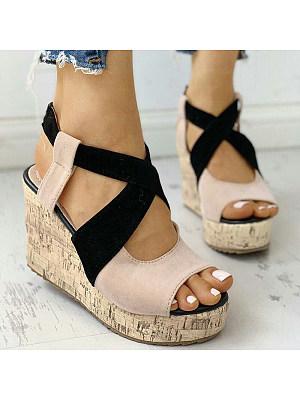 Stylish comfortable wedge sandals, 23630202