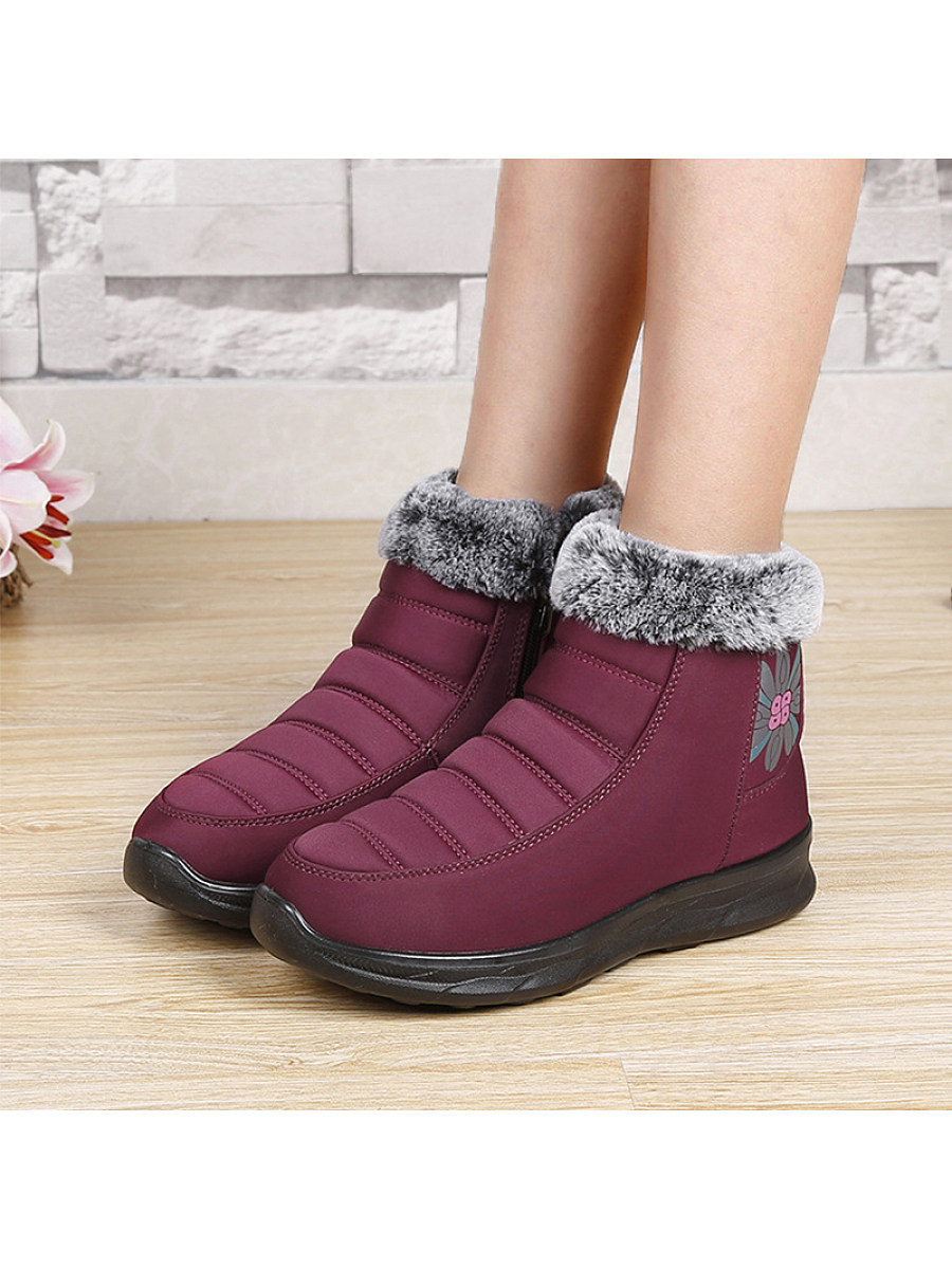 Warm ladies snow boots - from $28.95