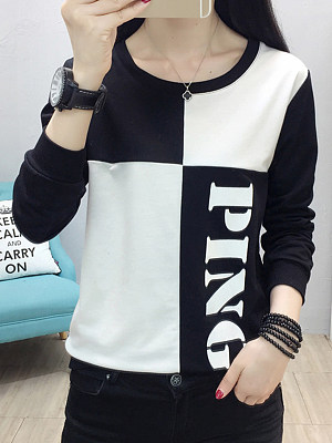 Fashion Colorblock Sweatshirt, 11198417