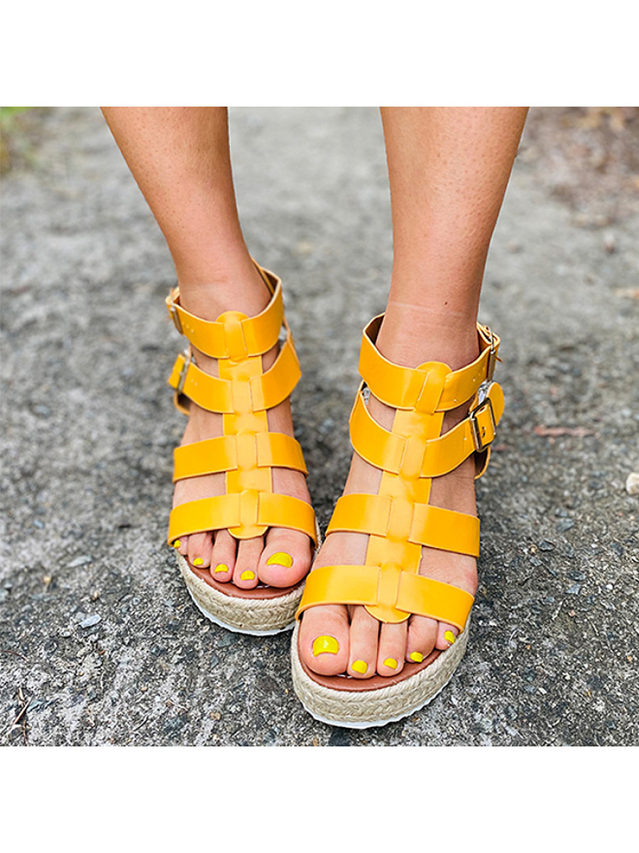BerryLook Women's fashion comfortable platform sandals