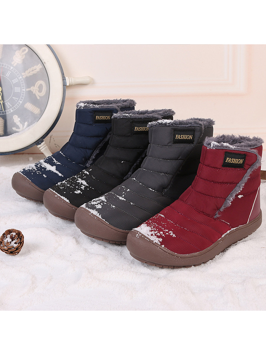 Warm fluffy lining shoes - from $29.95
