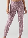 Image of Fashion high waist polka dot print casual leggings