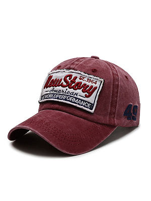 Hat Men's Washed Cloth Cap Sun Hat Street Sunshade Baseball Cap style:outdoor,conventional,