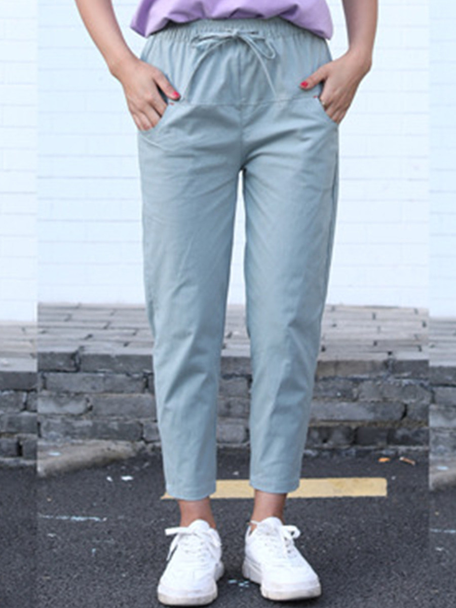 Fashion casual ladies overalls casual pants