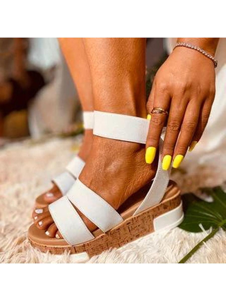 BerryLook Women's platform sandals