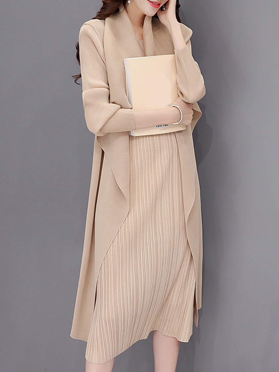 Women's solid color long dress - from $28.95