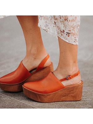 Platform high-heeled sandals, 11137255