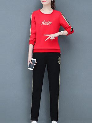 Fashion Original Printed Sweatshirt Suit фото