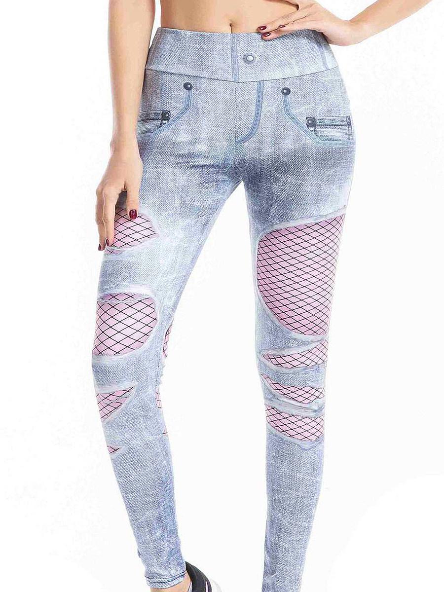 BerryLook Printed slim yoga sweatpants leggings
