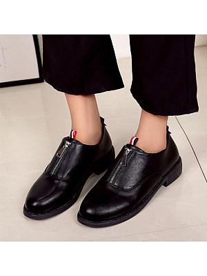 Retro Low Heel Women's Shoes, 10796737